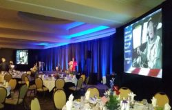 Banquet Audio Visual Setup in Dallas, TX