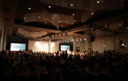 Check out our lighting and audio services for this fashion show!