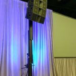 Speaker setup for conference