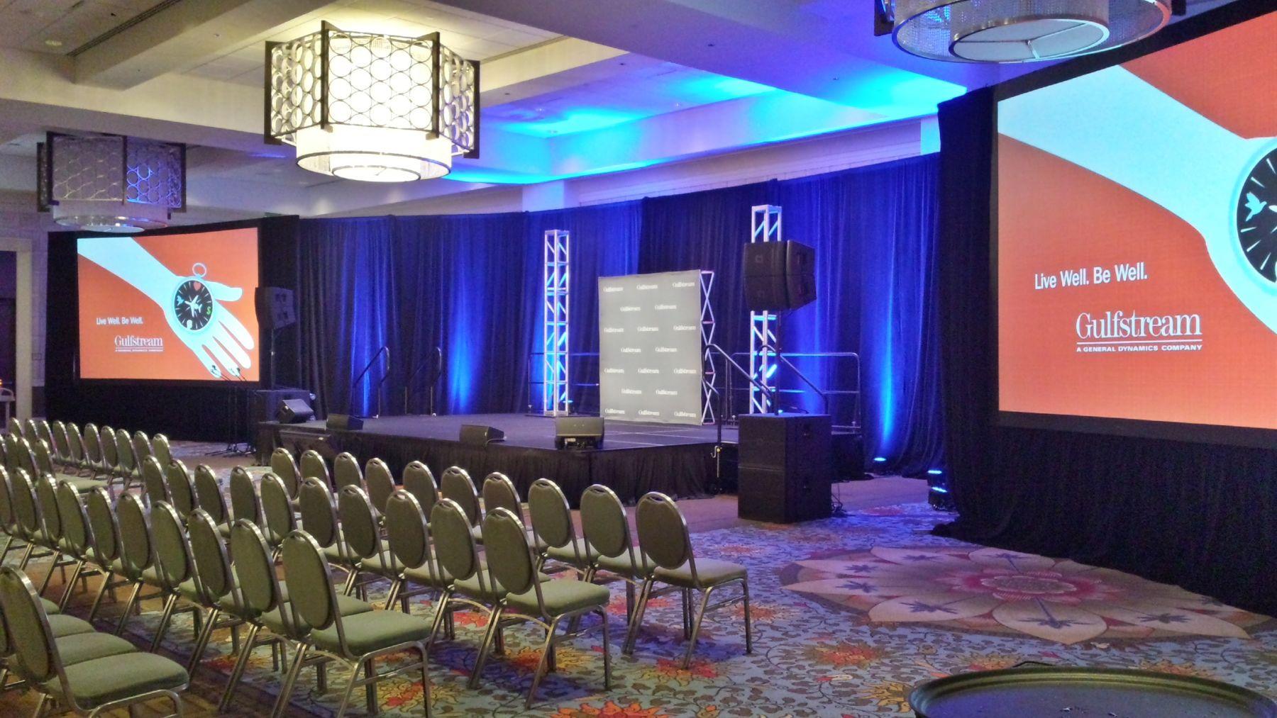 Hilton Anatole AV Event Setup