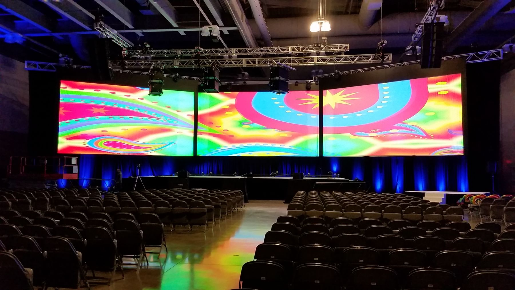 Irving Convention Center AV Services by Showtech