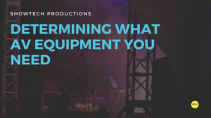 Determining What AV Equipment You Need