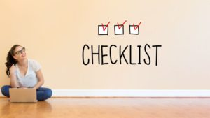 Video Production Checklist